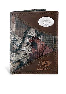 ZEP-PRO Mossy Oak Texas State Bobcats Tri-fold Wallet