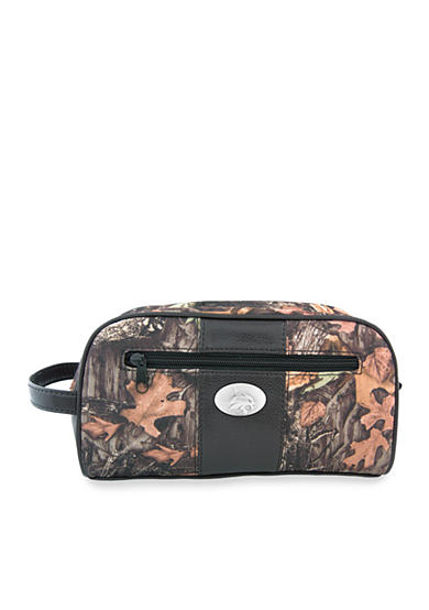 ZEP-PRO Mossy Oak Texas State Bobcats Camo Toiletry Shave Kit
