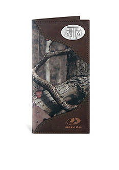 ZEP-PRO Mossy Oak Texas A&M Aggies Secretary Wallet