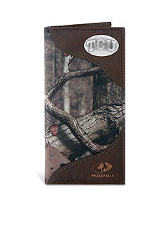 ZEP-PRO Mossy Oak TCU Horned Frogs Secretary Wallet