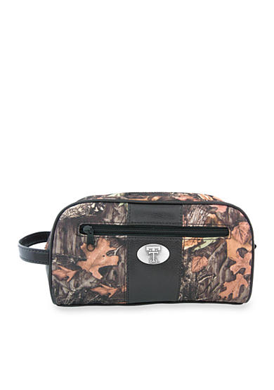 ZEP-PRO Mossy Oak Texas Tech Red Raiders Camo Toiletry Shave Kit