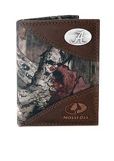 ZEP-PRO Mossy Oak Alabama Crimson Tide Tri-fold Wallet