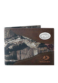 ZEP-PRO Mossy Oak Arkansas Razorbacks Passcase Wallet