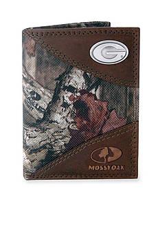 ZEP-PRO Mossy Oak Georgia Bulldogs Tri-fold Wallet