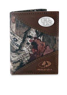 ZEP-PRO Mossy Oak Kentucky Wildcats Tri-fold Wallet