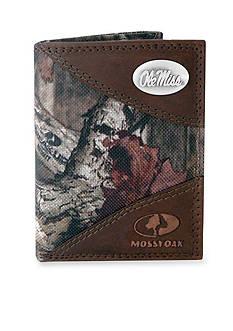 ZEP-PRO Mossy Oak Ole Miss Rebels Tri-fold Wallet