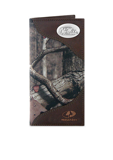 ZEP-PRO Mossy Oak Ole Miss Rebels Secretary Wallet