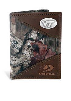 ZEP-PRO Mossy Oak Virginia Tech Hokies Tri-fold Wallet