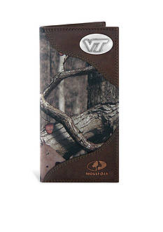 ZEP-PRO Mossy Oak Virginia Tech Hokies Secretary Wallet