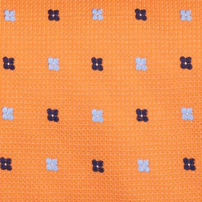Young Men: Nautica Accessories: Orange Nautica Flare Neat Tie
