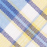 Young Men: Nautica Accessories: Yellow Nautica Commodore Plaid Tie