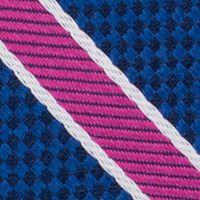 Young Men: Nautica Accessories: Purple Nautica Anchor Stripe Tie