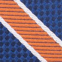 Young Men: Nautica Accessories: Orange Nautica Anchor Stripe Tie