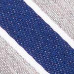 Mens Designer Ties: Gray Nautica Reef Stripe Tie