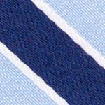 Mens Designer Ties: Blue Nautica Reef Stripe Tie