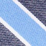 Mens Designer Ties: Navy Nautica Reef Stripe Tie