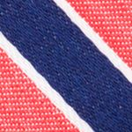 Mens Designer Ties: Red Nautica Reef Stripe Tie