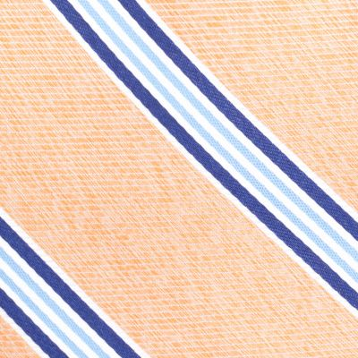 Men: Neckties Sale: Orange Nautica Heel Stripe Tie