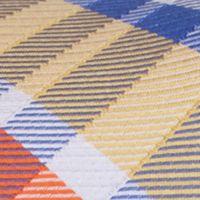 Mens Ties: Plaid: Yellow Nautica Core Neat Tie