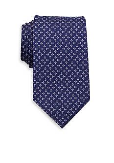 Nautica Tossed Anchor Neat Tie