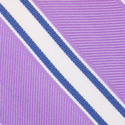 Young Men: Nautica Accessories: Purple Nautica Welch Stripe Tie