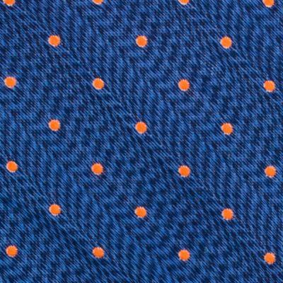 Young Men: Nautica Accessories: Orange Nautica Cushing Dot Tie