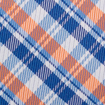 Young Men: Nautica Accessories: Orange Nautica Stockton Plaid Tie