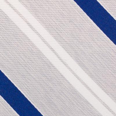 Young Men: Nautica Accessories: Silver Nautica Rogers Stripe Tie