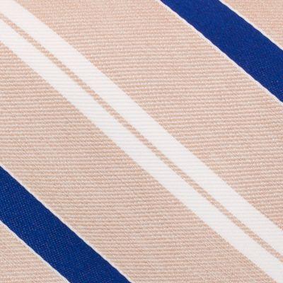 Young Men: Nautica Accessories: Taupe Nautica Rogers Stripe Tie