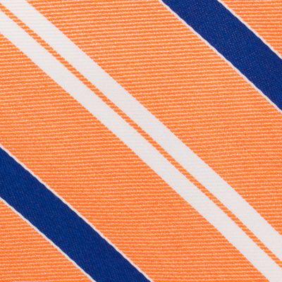 Young Men: Nautica Accessories: Orange Nautica Rogers Stripe Tie