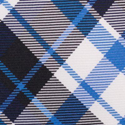 Young Men: Nautica Accessories: Black Nautica Camotes Plaid Tie