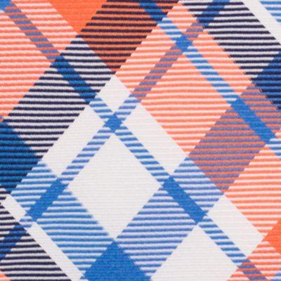 Young Men: Nautica Accessories: Orange Nautica Camotes Plaid Tie