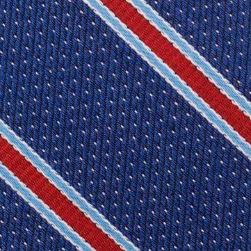 Young Men: Nautica Accessories: Red Nautica Oman Stripe Tie