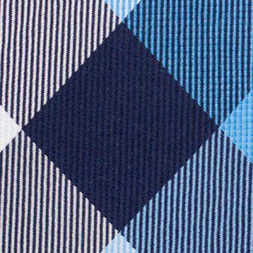 Young Men: Nautica Accessories: Blue Nautica Pacific Plaid Tie