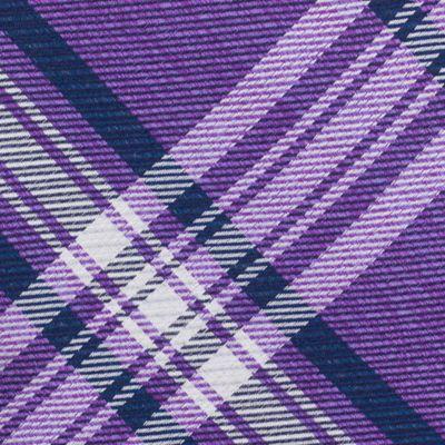 Young Men: Nautica Accessories: Purple Nautica Piirissaar Plaid Tie