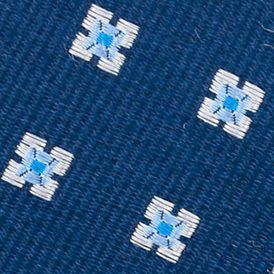 Young Men: Nautica Accessories: Blue Nautica Gotland Mini Tie
