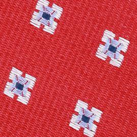 Young Men: Nautica Accessories: Red Nautica Gotland Mini Tie