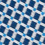 Young Men: Nautica Accessories: Blue Nautica Vormsi Mini Tie