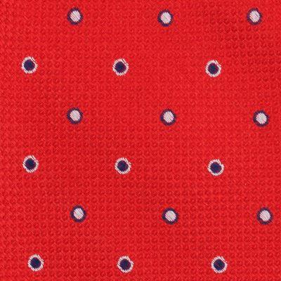 Young Men: Nautica Accessories: Red Nautica Zealand Dot Tie