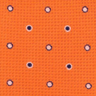 Young Men: Nautica Accessories: Orange Nautica Zealand Dot Tie