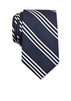 Nautica Fin Solid Stripe Tie