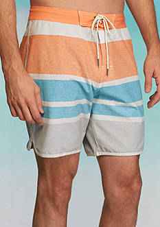 Chip & Pepper® CALIFORNIA Vintage Stripe Board Shorts