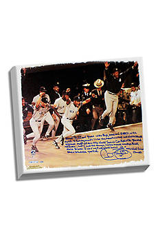 Steiner Sports MLB Cecil Fielder's 1996 World Series Canvas