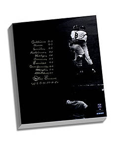 Steiner Sports™ MLB Don Larsen's Facsimile World Series Perfect Game Canvas