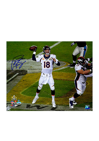 Steiner Sports Peyton Manning Signed Super Bowl 50 16x20 Photo