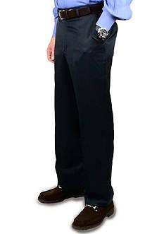 BERLE Super 100's Gabardine Trouser