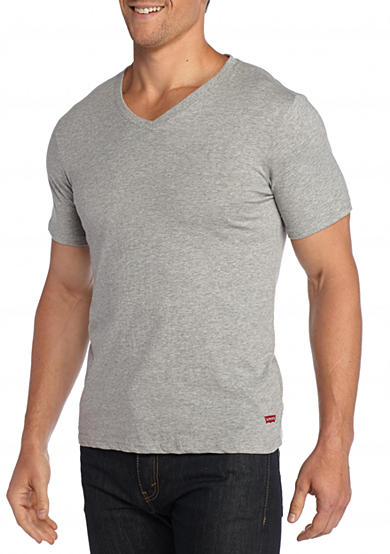 Levi's® Cotton V-Neck T-Shirt - 3 Pack