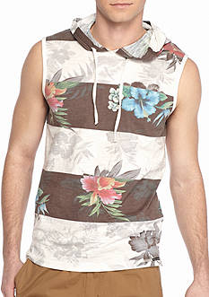 Ocean Current Gessami Floral Hooded Tank