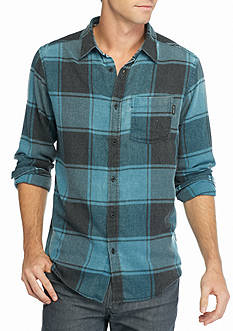 Ocean Current Long Sleeve Woven Shirt