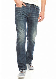 Red Camel Dark Vintage Slim Straight Jeans